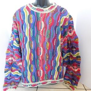 Vintage Coogi Australia Multi Color Sweater